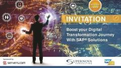 SAP Boost Invitation